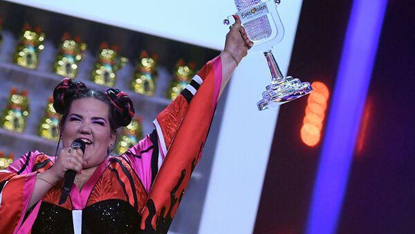 Победительница Евровидения-2018 певица Нетта из Израиля - Sputnik Латвия