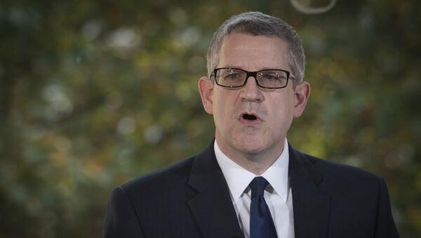 Lielbritānijas pretizlūkošanas dienesta MI5 vadītājs Endrjū Pārkers - Sputnik Latvija