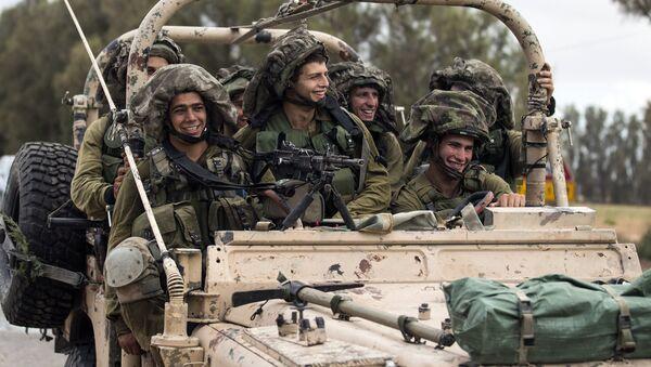 Izraēlas armijas karavīri. Foto no arhīva - Sputnik Latvija