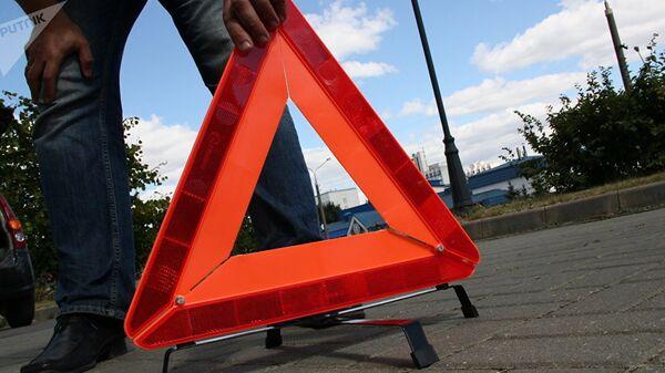 Знак аварийной остановки, архивное фото - Sputnik Латвия