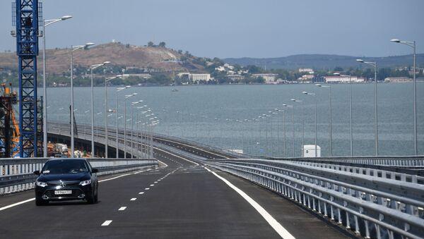 Открытие автомобильной части Крымского моста - Sputnik Латвия