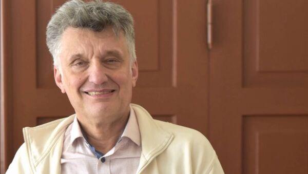 Вице-президент Латвийского общества врачей Марис Плявиньш - Sputnik Latvija