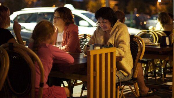 Ужин в кафе Риги - Sputnik Латвия