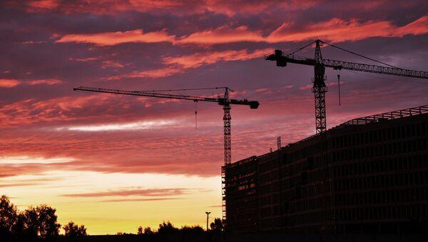 Строящееся жилье в Риге - Sputnik Latvija