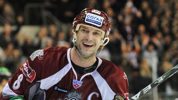 Хоккеист Сандис Озолиньш - Sputnik Latvija