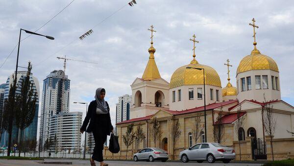 Erceņģeļa Mihaila baznīca - Sputnik Latvija