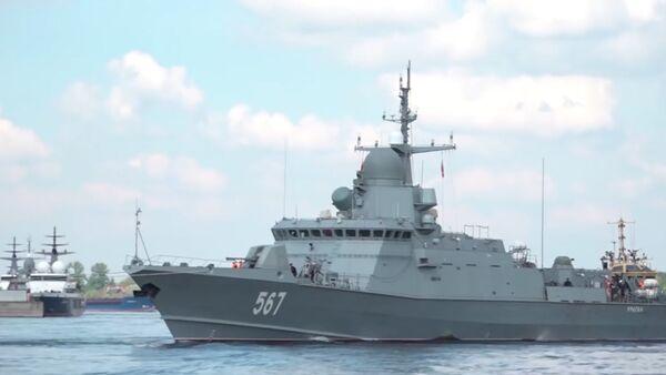 Малый ракетный корабль Ураган - Sputnik Латвия