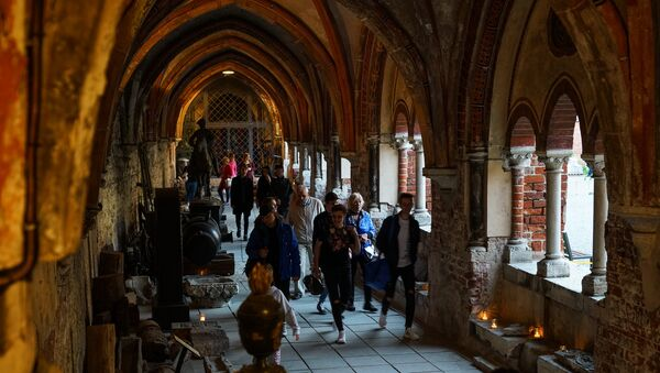 Крестовая галерея Домского собора - Sputnik Латвия