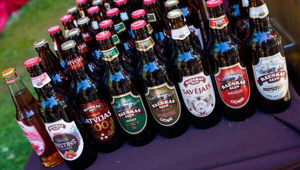 Пиво от латвийского производителя Bauskas alus - Sputnik Латвия