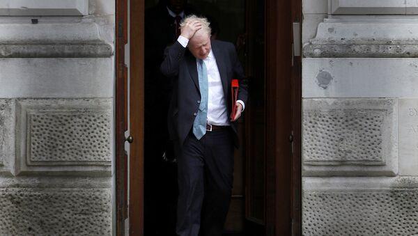 Премьер-министр Великобритании Борис Джонсон - Sputnik Latvija