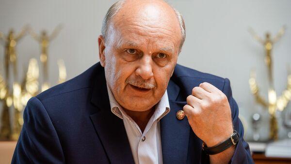 Председатель Союза писателей России Николай Иванов - Sputnik Латвия