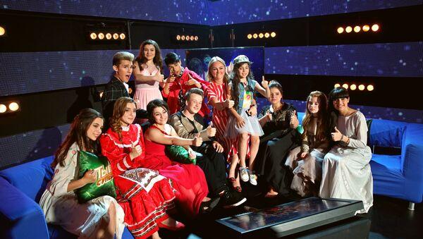 Финалисты второго сезона международного вокального конкурса Ты супер! - Sputnik Латвия
