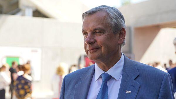 Министр образования и науки Латвии Карлис Шадурскис - Sputnik Latvija