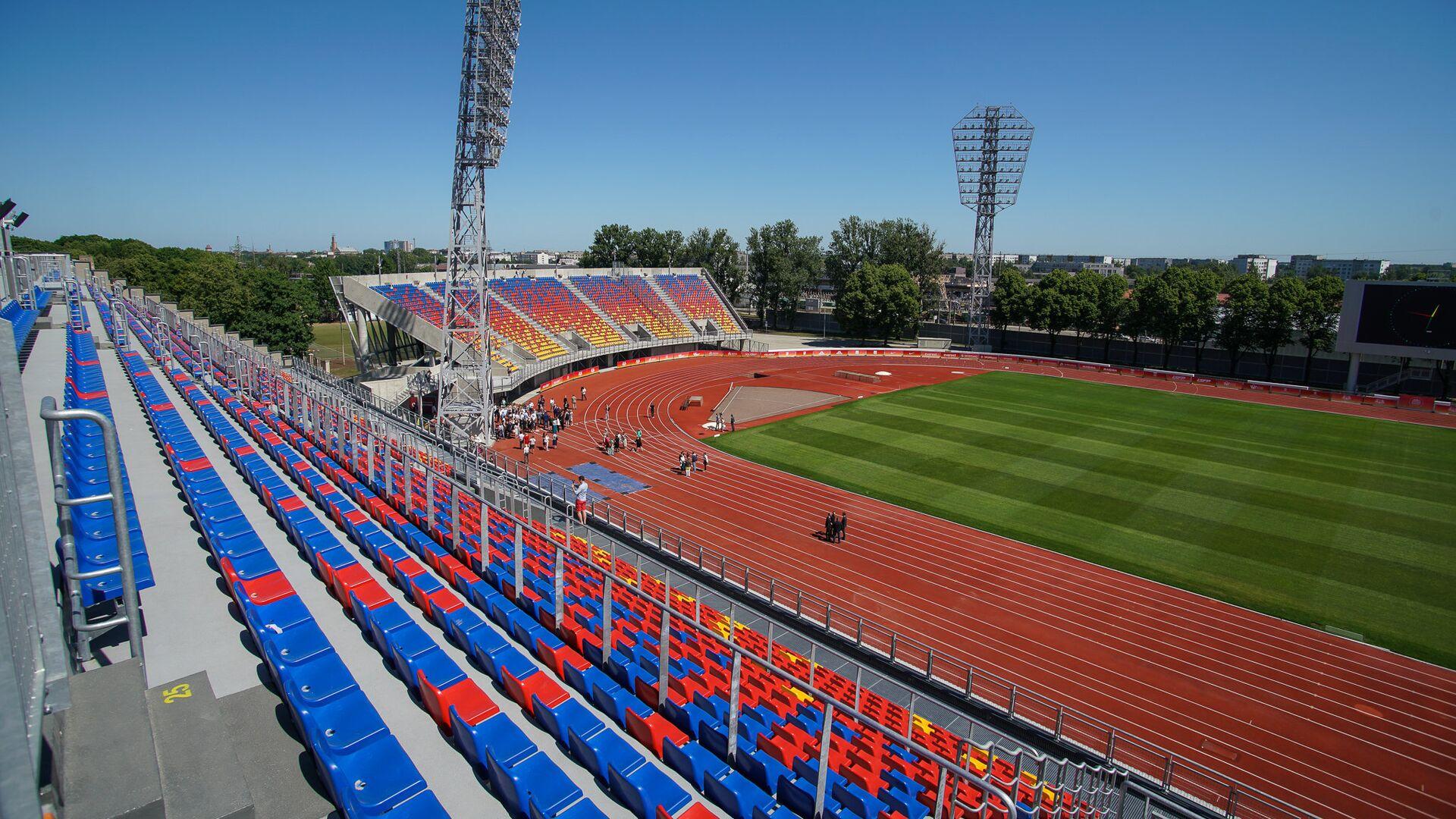 Стадион Даугава - Sputnik Латвия, 1920, 01.07.2021