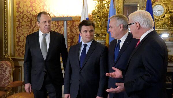 В Париже началась встреча глав МИД нормандской четверки - Sputnik Латвия