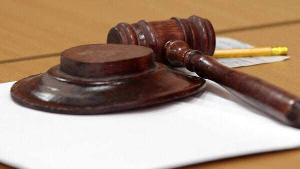 Молоток судьи в зале суда - Sputnik Латвия