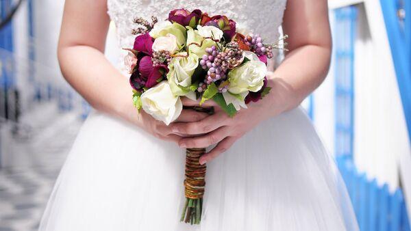 Свадебный букет невесты - Sputnik Latvija