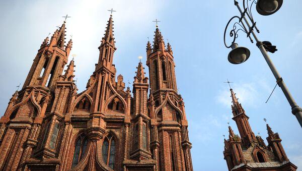 Костел Святой Анны в Вильнюсе - Sputnik Latvija