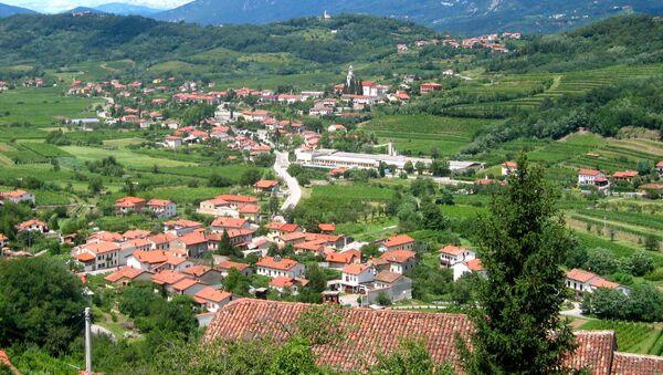 Поселок Браник в Випавской долине, Словения - Sputnik Latvija