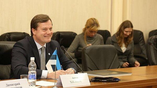 Полномочный посол Эстонии в РФ Арти Хилпус - Sputnik Латвия