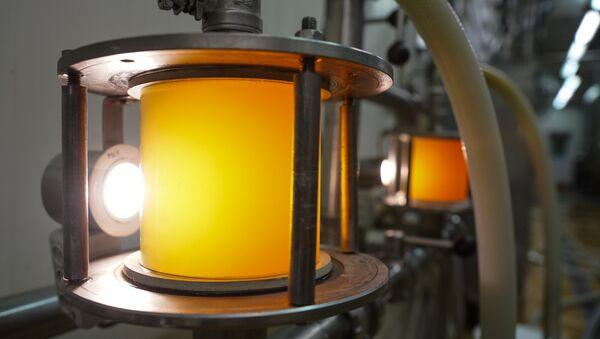 Производство пива на предприятии Bauskas alus - Sputnik Latvija