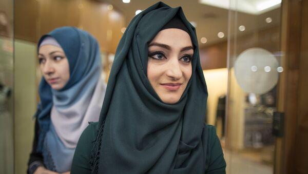 Женщины-мусульманки в хиджабах - Sputnik Латвия