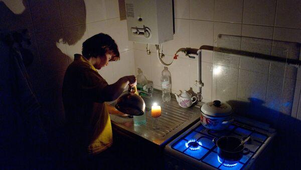 Газовая плита. Архивное фото - Sputnik Латвия