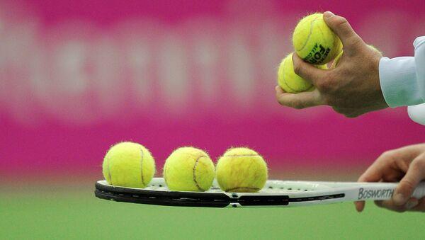 Теннисные мячи. Архивное фото - Sputnik Латвия
