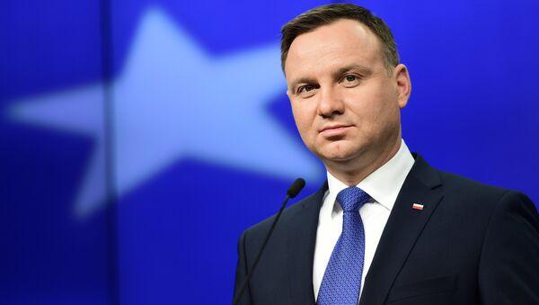 Президент Польши Анджей Дуда. - Sputnik Latvija
