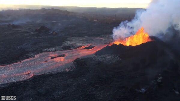 Сход лавы на Гавайях - Sputnik Latvija