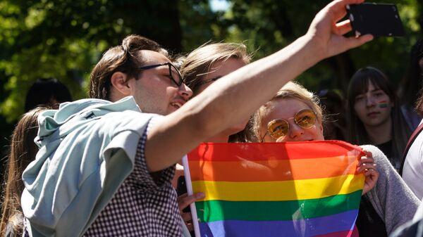 Шествие сексуальных меньшинств Baltijas Praids - Sputnik Латвия