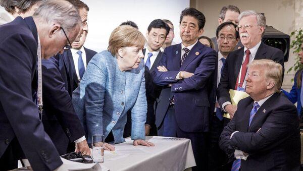 Встреча лидеров G7 2018 год - Sputnik Латвия