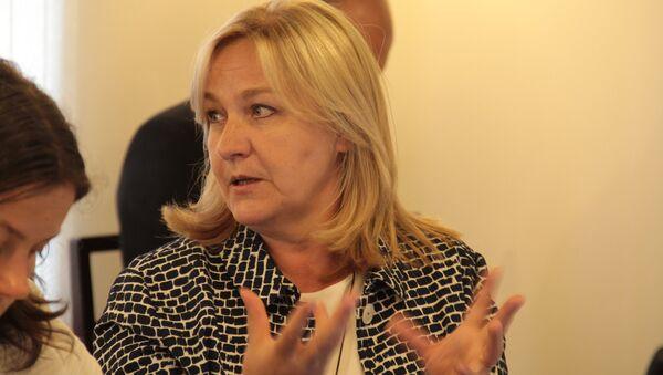 Заместитель госсекретаря Минкульта Латвии Инита Пауловича - Sputnik Латвия
