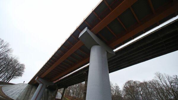 Открытие нового моста на трассе Калининград — Мамоново — граница Республики Польша - Sputnik Латвия
