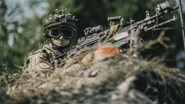 Международные военные учения Saber Strike в Латвии - Sputnik Латвия