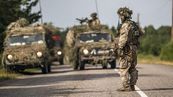 NATO militāras mācības Saber Strike Latvijā - Sputnik Latvija