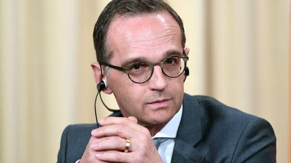 Глава МИД Германии Хайко Маас  - Sputnik Латвия