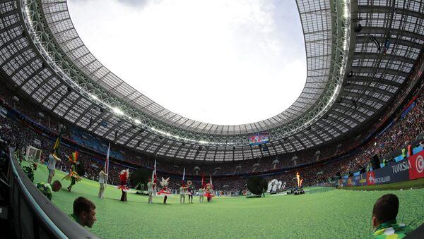 Церемония открытия чемпионата мира по футболу 2018 на стадионе Лужники - Sputnik Латвия