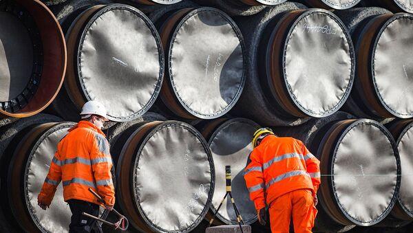 Nord Stream 2 - Sputnik Latvija