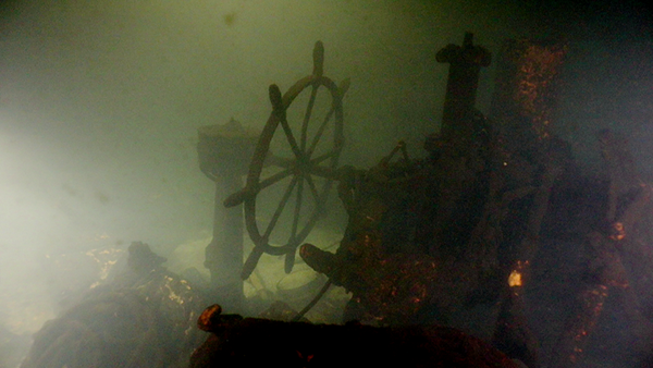 Останки эсминца Новик на дне Финского залива - Sputnik Латвия