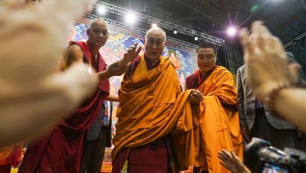 Учение Далай-ламы в Риге - Sputnik Latvija