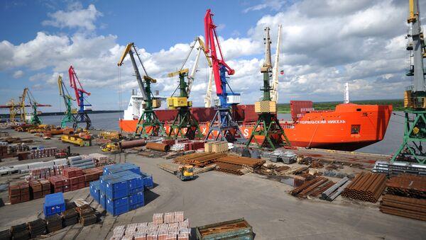 Arhangeļskas jūras tirdzniecības osta - Sputnik Latvija