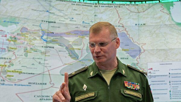 Официальный представитель Министерства обороны РФ Игорь Конашенков. Архивное фото - Sputnik Latvija