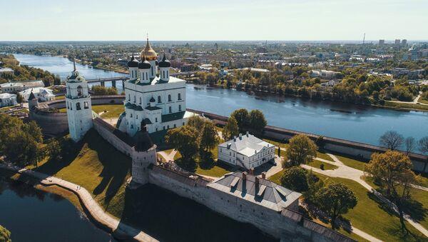 Псковский Кром (Кремль) - Sputnik Латвия