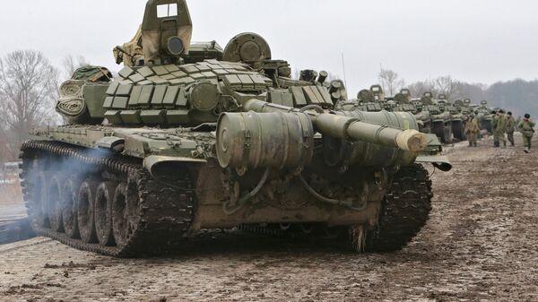 Передислокация пехоты Балтийского флота - Sputnik Latvija