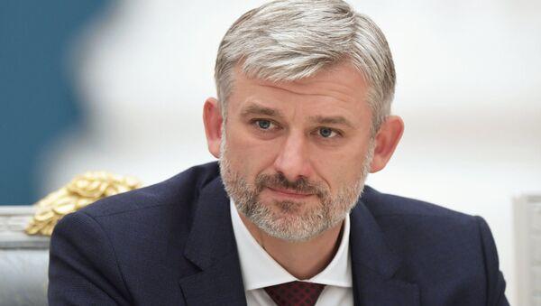 Krievijas Transporta ministrijas vadītājs Jevgenijs Dītrihs - Sputnik Latvija