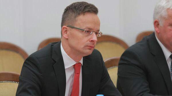 Министр иностранных дел и внешней торговли Венгрии Петер Сийярто - Sputnik Latvija