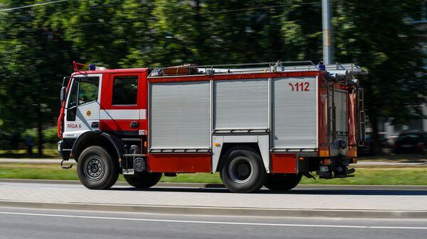Пожарная машина - Sputnik Латвия