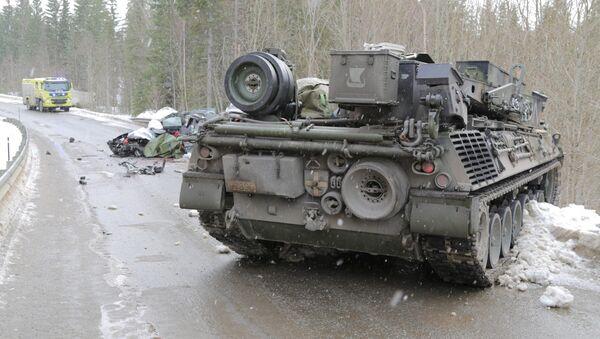 ДТП в Норвегии во время военных учений Cold Response - Sputnik Латвия