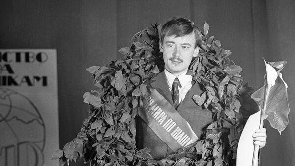 Чемпион мира по шашкам 1972 года Андрис Андрейко - Sputnik Латвия